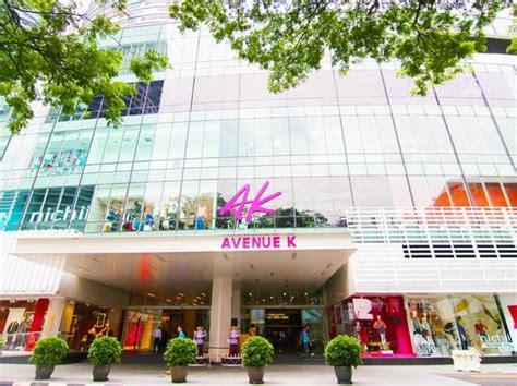 avenue  shopping mall kuala lumpur malaysia hours
