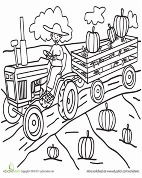 Pumpkin Patch Coloring Page Education Com Pumpkin Patch Coloring Page