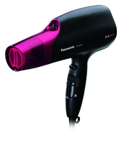 Panasonic Hair Dryer With Brush Attachment panasonic eh na65 k nanoe hair dryer professional quality with 3 attachments including
