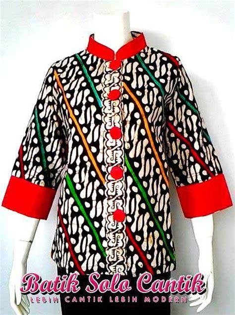 Baju Batik Parang Brown batik parang model blus rainbow baju kerja batik