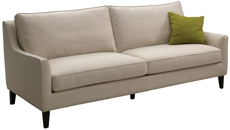 hanover sofa hanover beige cotton sofa from sunpan 42397 3 coleman