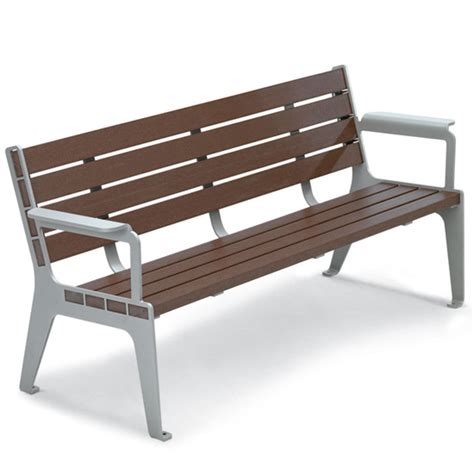 composite bench stainless steel composite wood benches t2 site amenities