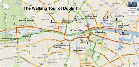 walking maps dublin my adventures in ireland