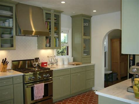 Light Green Kitchen Cabinets Images For Green Kitchen Cabinets Taupe Gray And