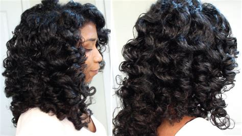 how to do a perm rod set on short relaxed hair how to cheat a perm rod set easy technique heatless soft