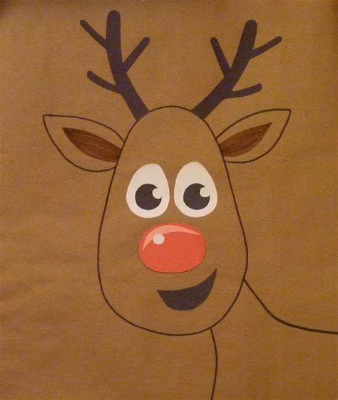 pin the nose on rudolph template pin the nose on rudolph template