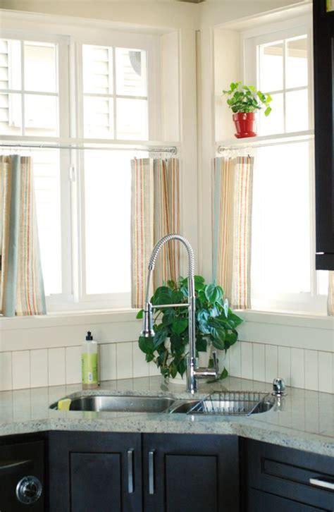Shower Curtain Tension Rod Instructions Best 25 Corner Window Treatments Ideas On Pinterest