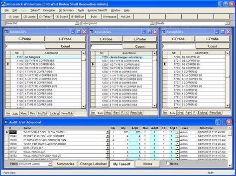 Plumbing Takeoff Software by Estimating Software For The Medium Size Plumbing Contractor