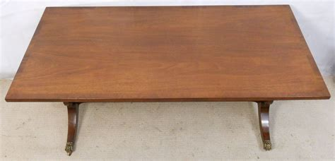 large mahogany coffee table large mahogany pedestal coffee table