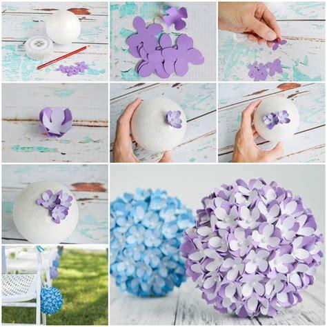 creative ideas creative ideas diy felt flower christmas ball ornament