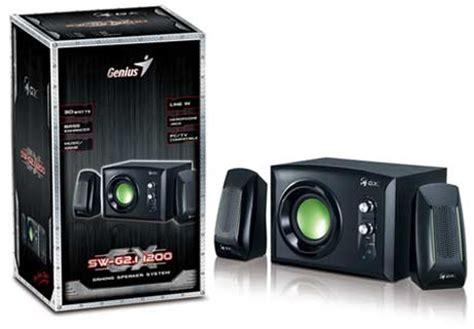 Genius Speaker 2 1 Sw G2 1 1200 genius sw g2 1 1200 gx gaming speaker series now available