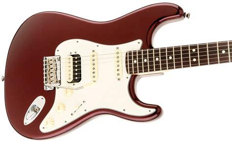 Fender Usa American Standard Stratocaster Hss fender american standard stratocaster hss shawbucker rosewood bordeaux metallic keymusic