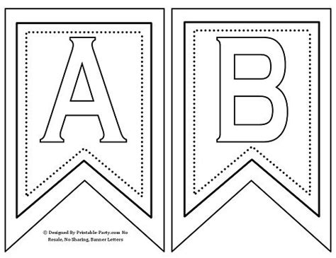 letter templates for banners 25 best ideas about printable banner letters on