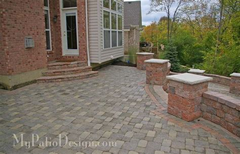 walkout basement backyard ideas stone for walkout basement patio garden landscape
