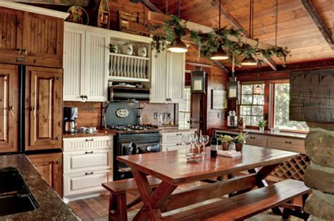 rustic kitchen ideas pictures decoraci 243 n de cocinas r 250 sticas 50 ideas originales