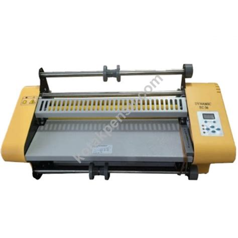 Mesin Laminating Merk Lamipacker jual mesin laminating roll dynamic ec 360 murah