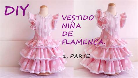 como cortar una falda de cola flamenca youtube vestido ni 241 a de flamenca como hacer un vestido flamenca
