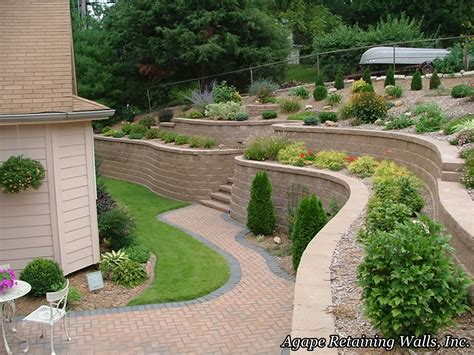 Patio Design Retaining Wall Google Search Ideas For Retaining Wall Patio Design