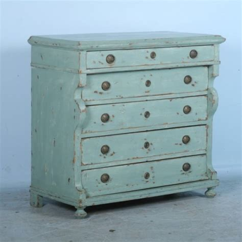 Antique Blue Dresser by Antique Pine Green Blue Chest Of Drawers Dresser C