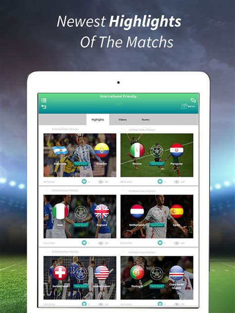 best app for live sports live football live soccer on tv free screenshot