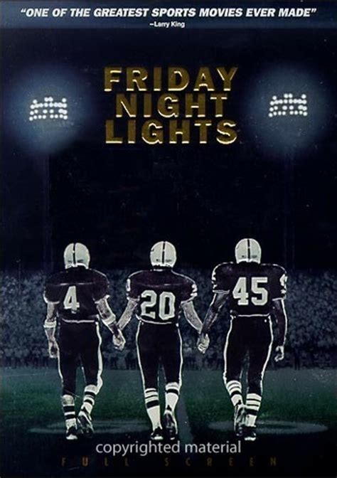 friday night lights full movie friday night lights dvd 2004 dvd empire