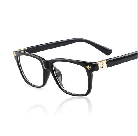 new retro eye glasses frame fashion brand designer