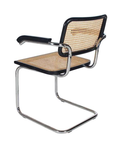 Cesca Armchair by Mid Century Modern Set Of Four Marcel Breuer Cesca