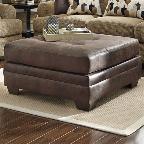 oversized leather with ottoman square oversized leather ottoman functional oversized