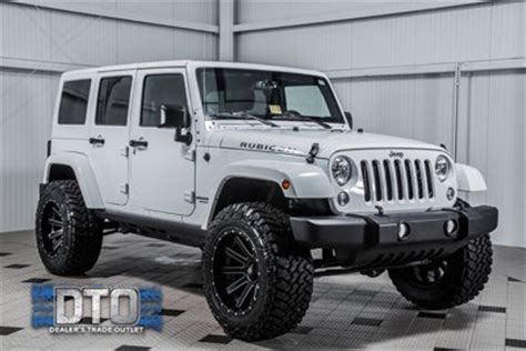 Jeep Wrangler Unlimited 35 Inch Tires Used Jeep Wrangler Unlimited At Dealers Trade Outlet