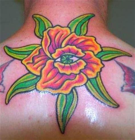 tattoo eye flower flower with eye tattoo picture