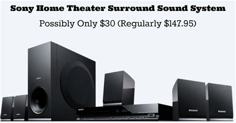 walmart clearance sony home theater surround sound system