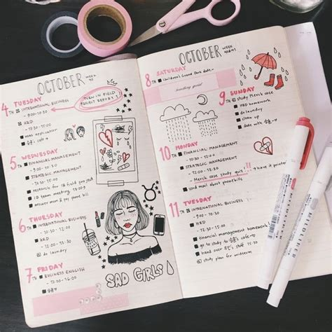 Language Design Journal | 30 bullet journal ideas that ll keep your life organized