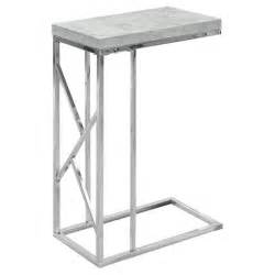 Gray Accent Table Accent Table Chrome Metal Gray Everyroom Target