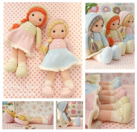 pattern for yarn doll new little yarn dolls pdf email doll knitting pattern