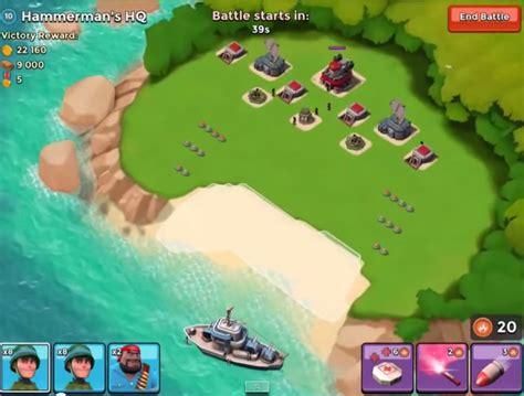 download game boom beach mod offline hướng dẫn c 225 ch chơi boom beach đ 225 nh hammerman s lv10 kho