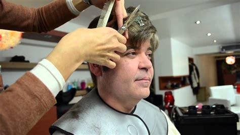 gents haircut nyc men s color and cut at tomoko shima hair salon nyc youtube