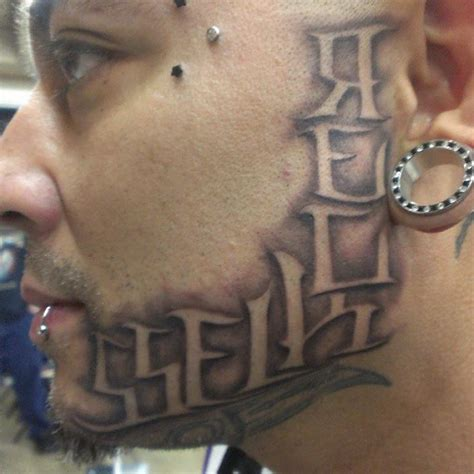 tattoo face instagram exclusive that looks painful most wtf face tattoos on
