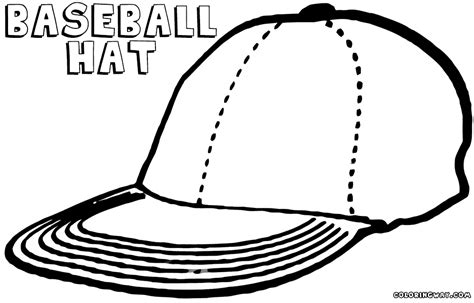 baseball cap coloring pages coloring pages to download