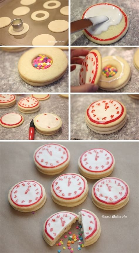 easy new year biscuits 10 and easy new years diy craft ideas