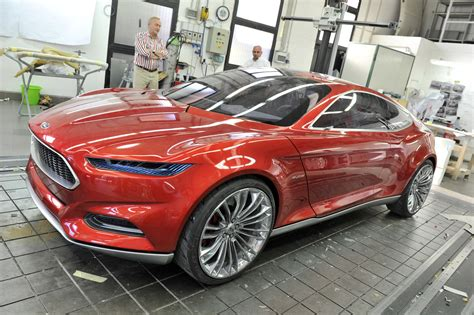 ford design in the 2011 ford evos concepts