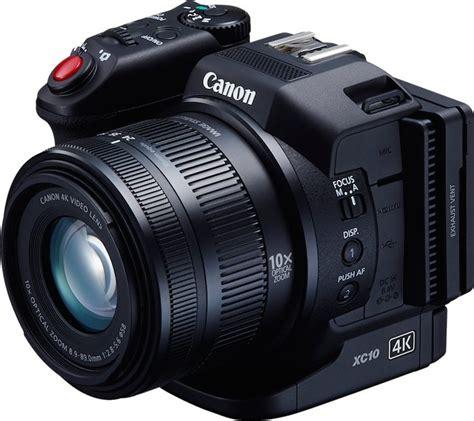 4k canon canon xc10 4k with 1 sensor unveiled