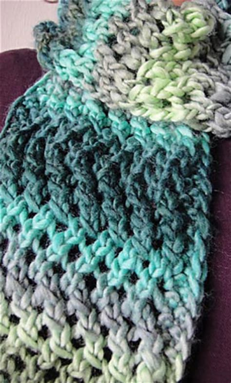 lace zig zag knitting pattern ravelry lace zig zag scarf pattern by barbara breiter