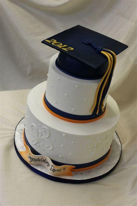Mba Graduation Cake by 2 Tiers Graduation Cake