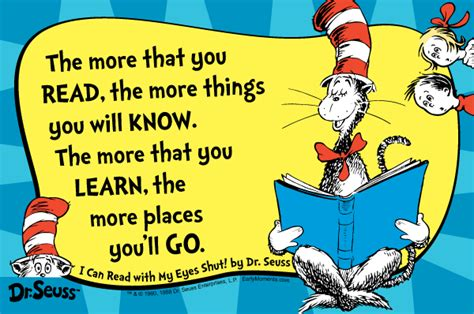 the thing about books dr seuss quotes reading they are quotes that every