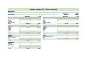 event budget template excel event planning budget template excel driverlayer search