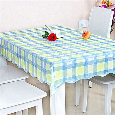 wipe clean flannel pvc waterproof tablecloth dining kitchen table cover sizes ebay