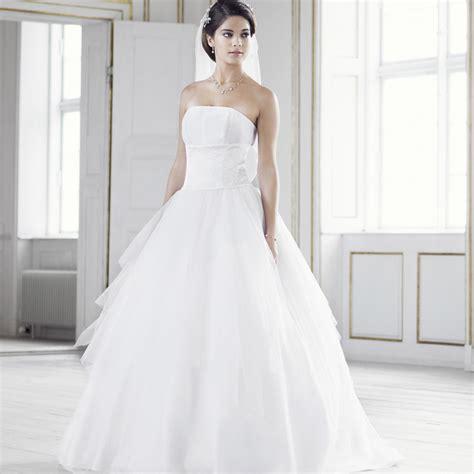 Robe Blanche Simple Pour Mariage - robe blanche de mariage simple
