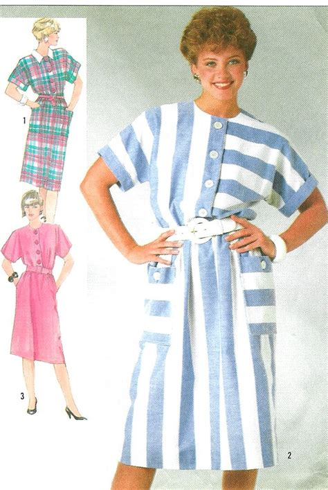 dress pattern kimono sleeve kimono sleeve dress sewing pattern 80s button front belted