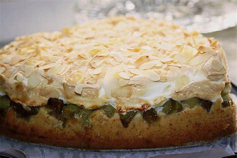 einfacher leckerer kuchen leckerer rhabarber kuchen mit baiserhaube susi