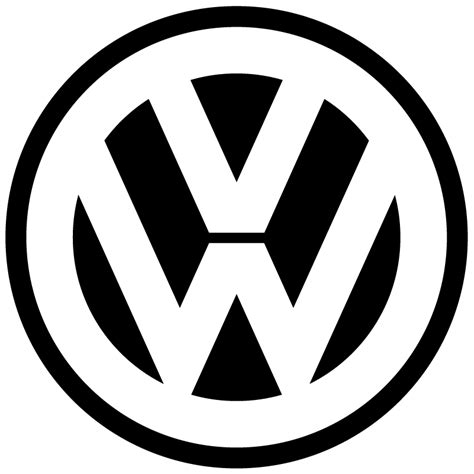 eps format transparent volkswagen vw logo transparent vector free vector